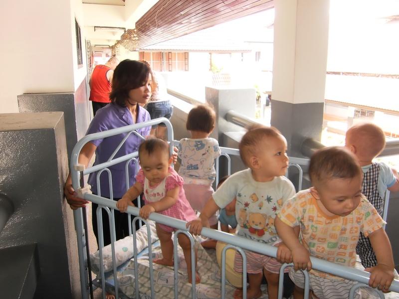 Babies in transit