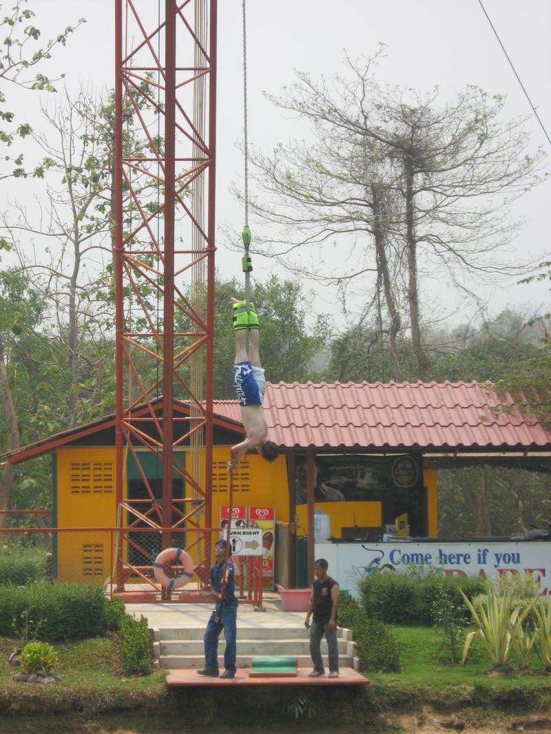 Hanging around in Thailand